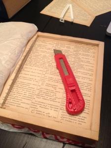 Book Cutting Part 1