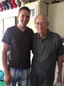 Grandpa and I
